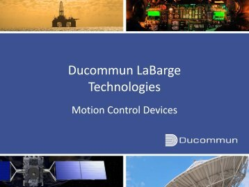 Ducommun LaBarge Technologies - Ducommun Incorporated