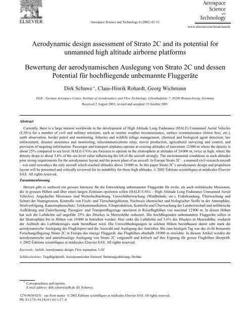 Aerodynamic Design Assessment Of Strato 2c Ufsc Aerodesign