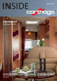 UNTERWEGS - Carthago Reisemobilbau GmbH