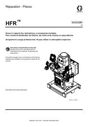 3A2539K - HFR, Repair - Parts, French - Graco Inc.