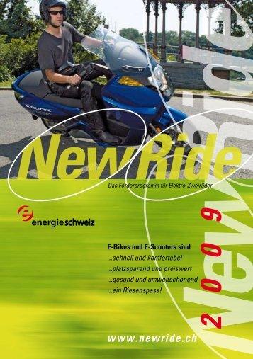 NewRide Fördert Die Mobilität Der Zukunft - Peterhans Velos Motos ...