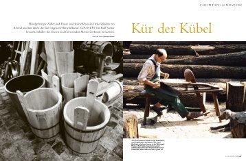 Handgefertigte Zuber und Fässer aus Holz ... - Christian Kaiser