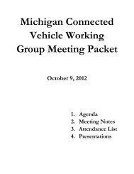 October 9, 2012 - State of Michigan