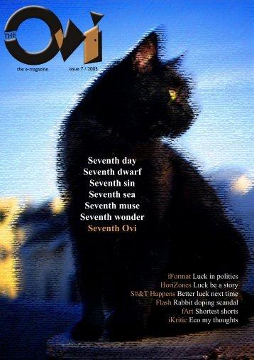 Issue #7: Luck - Ovi Magazine