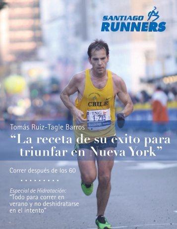 """""""La receta de su éxito para triunfar en Nueva York"""" - Santiago Runners"""