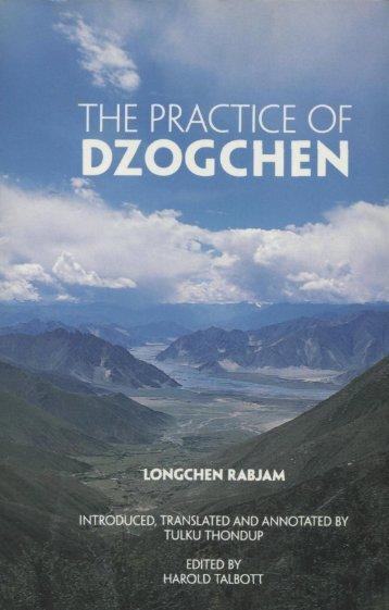 practice of Dzogchen - Ньингма rnying ma