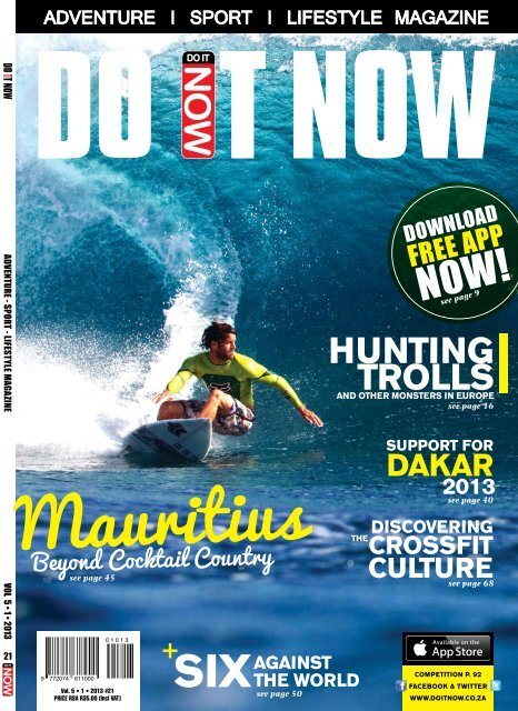 Download PDF here - DO IT NOW Magazine