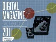 Digital Magazine Fact Book 2011 - Magazines Canada