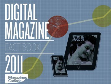 Digital Magazine Fact Book 2011 - Magazines Canada
