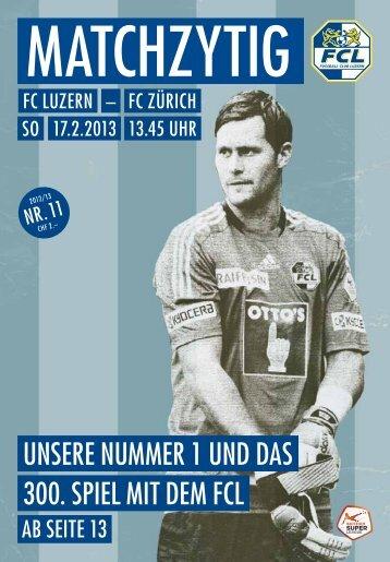 Ausgabe 11 - FC Luzern