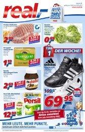 Viele Angebote auch im Onlineshop: www.real.de
