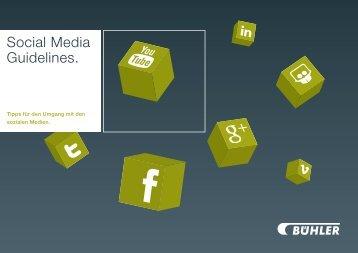 Social Media Guidelines.