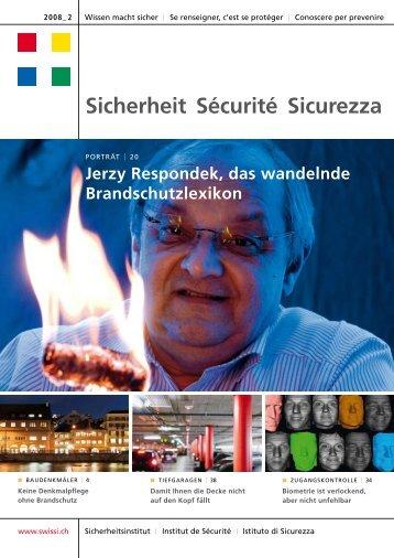 Sicherheit Sécurité Sicurezza - Swissi
