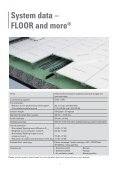 FLOOR and more® sonic - ProductInformation - Page 7