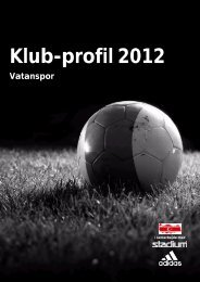 Klub-profil 2012 - VATANSPOR