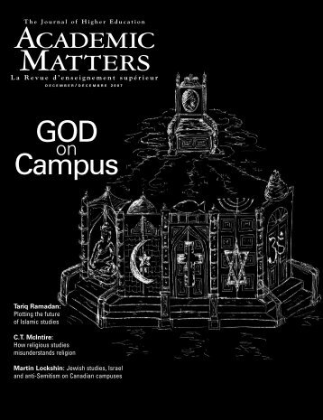 How Religious Studies Misunderstands Religion - Academic Matters