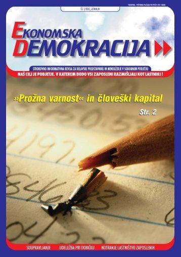 Ekonomska_demokracija_2011_3 - Ekonomsko-poslovna fakulteta ...