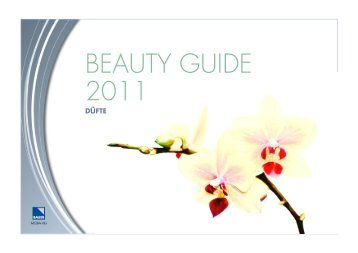Beauty Guide 2010/2011 Duft - Bauer Media Group