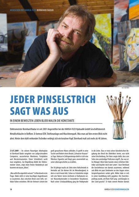 JEDER PINSELSTRICH SAGT WAS AUS - Galerie Badur
