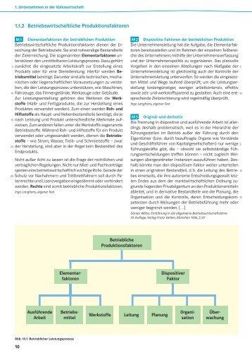 Abbildung 7: Einflussfaktoren für - Ernst Klett Verlag