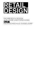 Retail Design [PDF] - Fachhochschule Düsseldorf
