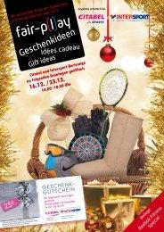 Geschenkideen - Intersport