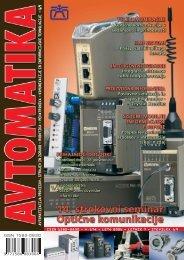avtomatizacija procesov, strojev in zgradb - robotika - Avtomatika