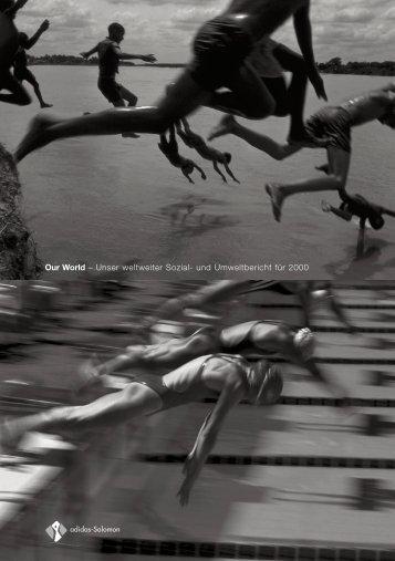 Sozial- und Umweltbericht 2000 - adidas Group