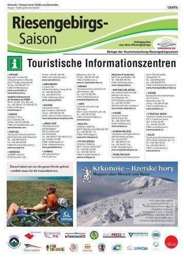 Touristische Informationszentren - Krkonose.eu