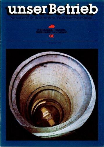 unser Betrieb - Deilmann-Haniel Shaft Sinking