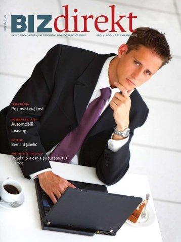 Poslovni ru~kovi Automobili Leasing - BIZdirekt