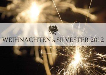 WEIHNACHTEN & SILVESTER 2012 - Zunfthaus zur Zimmerleuten