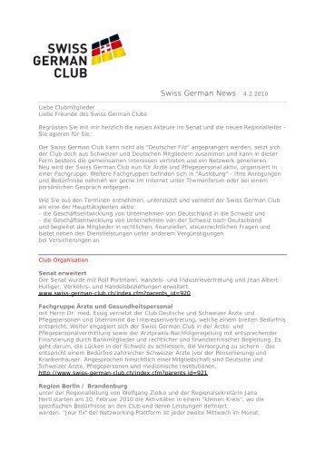 Deutscher Club Schweiz - Swiss German Club