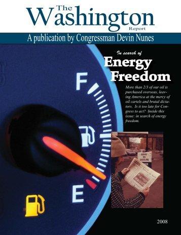 WR Magazine online.indd - Congressman Devin Nunes