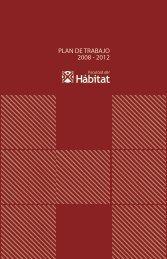 PLAN DE TRABAJO 2008 - 2012
