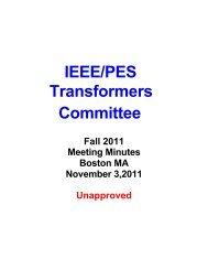 Dan Mulkey (Vice-Chair) Meeting Minutes - Working Group - IEEE