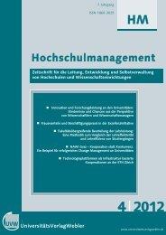 Heft 4 / 2012 - UniversitätsVerlagWebler
