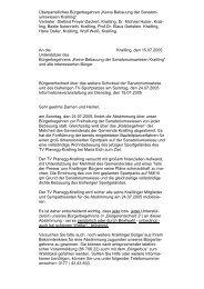 """Überparteiliches Bürgerbegehren """"Keine Bebauung ... - Wuermtal.Net"""