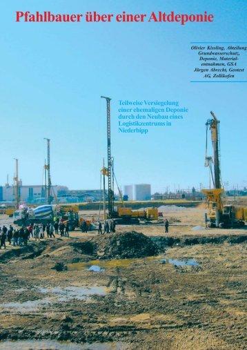 GSA Bulletin Müllergrube - Geotest AG