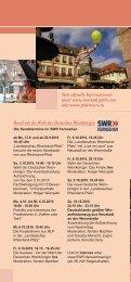 Flyer mit Programm zum Deutschen Weinlesefest - VRN ...