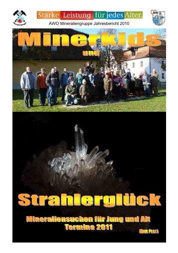 AWO Mineraliengruppe Jahresbericht 2010