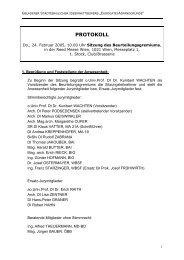 Protokoll der Sitzung des Preisgerichts vom 24.02.2005