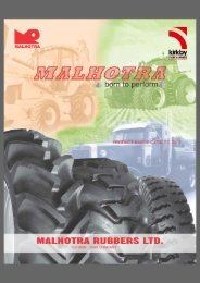 Please click here for Malhotra catalogue - Kirkby Tyres