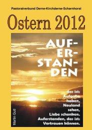 Osterbrief 2012 - Franziskus-Gemeinde Dortmund-Scharnhorst ...
