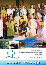 Berichtsheft 08_2.indd - Diakonissen-Mutterhaus Lachen