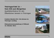 ThüringenTakt - Freistaat Thüringen