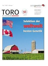 TORO 06/10 als PDF - Swissgenetics
