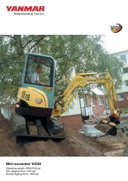 Mini-excavator ViO20 - Ammann Equipment