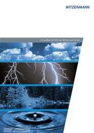 Umweltbericht 2003 der Witzenmann GmbH - CorporateRegister.com