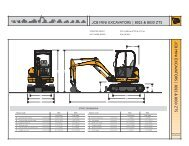 JCB MINI EXCAVATORS | 8025 & 8030 ZTS JC B MINI EX CA V A ...